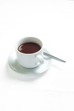 Coffee. Cup of coffee with clipping path for easier background extraction Royalty Free Stock Image
