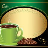 Coffee. Background for your promotion coffee Royalty Free Stock Images