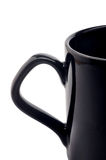 Coffee. Empty coffee cup making love shadow in handle Royalty Free Stock Images