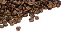 Coffee. Aromatic coffee isolated with white Royalty Free Stock Photography