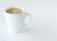 Coffee. Against a white background stock images