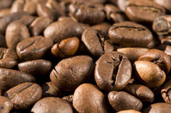 Coffee. A lot of coffee beans Stock Image
