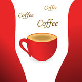 Coffee. Vector coffee background. Element for design Stock Illustration