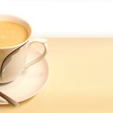 Coffee. Time, coffe cup on white royalty free stock images