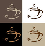 Coffee. Vector illustration coffee logo-sign vector illustration