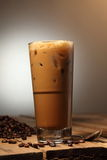 Coffee. A glass of ice coffee Royalty Free Stock Photo