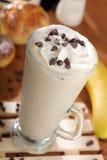 Coffee. Mixed with banana and caramel stock photos