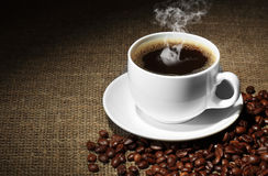 Coffee. Black coffee delicious wholesome drink Royalty Free Stock Photos