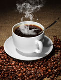 Coffee. Black coffee delicious wholesome drink Stock Photography