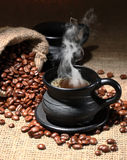 Coffee. Black coffee delicious wholesome drink Royalty Free Stock Photo