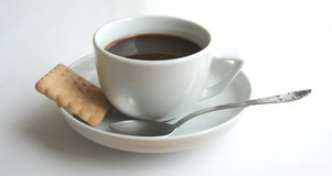 Coffee 2. A cup of coffee with white background stock images