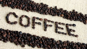 Coffee. Sign stock images