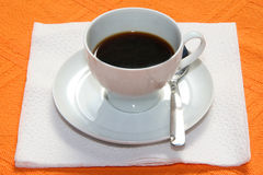 Coffee. Cups on the table Stock Images