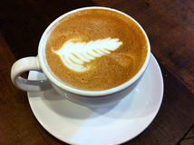 Coffee. Latte art in Savannah, Georgia Stock Images