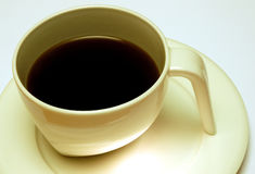 Coffee. Contemporary coffee cup Royalty Free Stock Photography