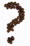 Coffee. Close up pictures of spilt coffee beans Royalty Free Stock Photo
