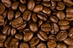 Coffee. Close up pictures of coffee beans Royalty Free Stock Photography
