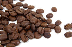 Coffee. Beans Java Cafe Beverage Brown Drink Caffeine Background Texture Royalty Free Stock Photo