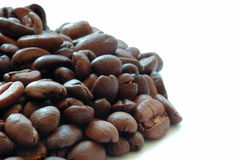 Coffee. Beans with copyspace stock images