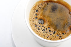 Coffee. Cup of coffee , close up Stock Image