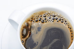 Coffee. Close up of cup of coffee Royalty Free Stock Photography