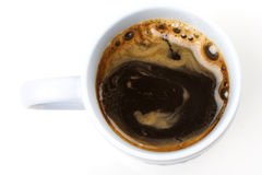 Coffee. Cup of coffee, one, black Stock Image