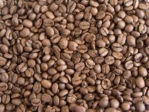 Coffee 9. Coffee beans background royalty free stock photo