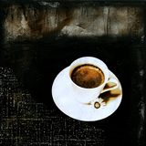 Coffee abstract Stock Images