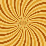 Coffee abstract hypnotic background. vector Royalty Free Stock Photography