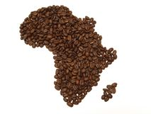 Coffee Africa Royalty Free Stock Image