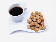 Coffee with amaretis. 