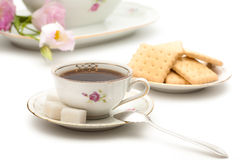 Free Coffee And Biscuits Stock Image - 25928641