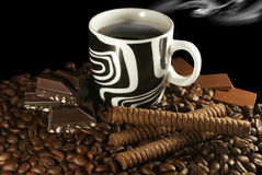Free Coffee And Chocolate Stock Photos - 5429773