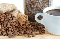 Free Coffee And Cinnamon Stock Image - 8880081