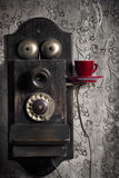 Coffee And Communication Royalty Free Stock Photo