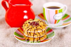 Coffee And Cookies Stock Image