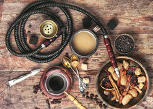 Free Coffee And Hookah Stock Photography - 85305742