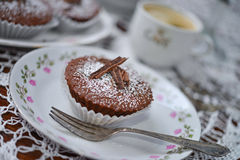 Coffee And Muffin Stock Image