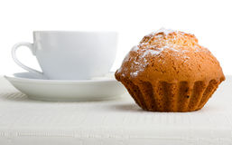 Coffee And Pastry Royalty Free Stock Photography