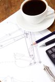 Coffee And Tools At Drafting