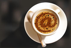 Coffee And Turn Me On Royalty Free Stock Images