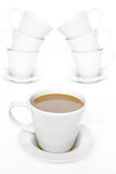Coffee Arches Stock Images