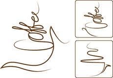 Coffee Aroma stock illustration