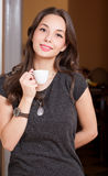 Coffee aroma. Royalty Free Stock Photography