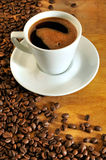 Coffee aromatic beans Royalty Free Stock Photo