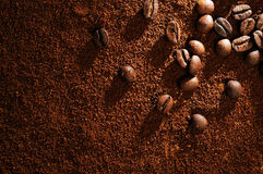 Coffee aromatic beans Royalty Free Stock Photos