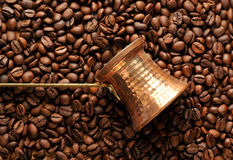 Coffee aromatic beans Royalty Free Stock Photography