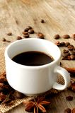 Coffee  aromatic cup with taste aroma and spices Royalty Free Stock Photography