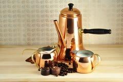 Coffee arrangement Stock Photos