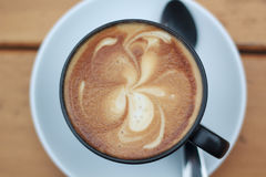 Coffee art Stock Images